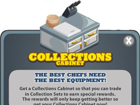 【Cafe World】Collections Cabinet 櫥櫃收集新登場!
