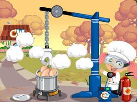 【Cafe World】Turkey Deep Fryer 幫你烤火雞迎接感恩節