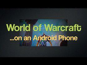 【魔獸世界】觸控魔獸世界不是夢?用HTC真的可以玩魔獸