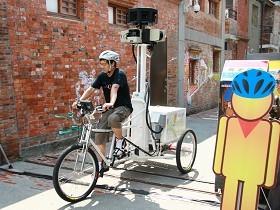 Google街景三輪車跑得快