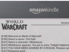【魔獸世界】如果魔獸世界在電子書上?