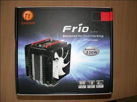 【廣編特輯】TT Frio CPU散熱器開箱+測試