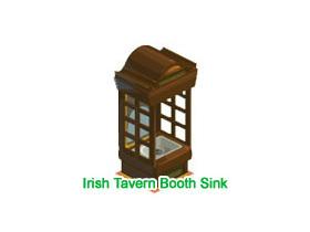 【Restaurant City】Irish Tavern Booth Sink抽獎串