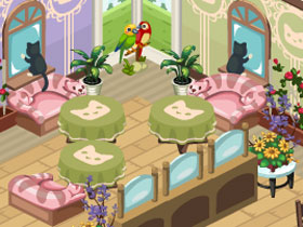 【Restaurant City】4/14 寵物當家!?Pet Cafe週