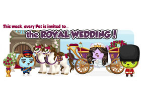【Pet Society】4/22 浪漫皇室婚禮週新品整理