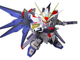 【SD 鋼彈】自由之翼強力出擊!