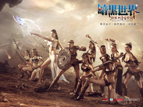 【暗黑世界】宣布6月28日展開完美封測 國際名模演繹上古性感十美姬