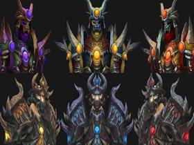 【魔獸世界】【4.2】S10鎖甲職套裝:獵人、薩滿