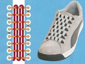 【爆八卦專欄】鞋帶學問大!10招綁法讓你穿鞋更有型