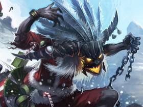 【暗黑破壞神III】【暴雪美術館】巫醫老公公駕著雪橇來啦!