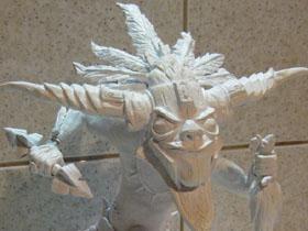 【魔獸世界】【暴雪美術館】暗黑3巫醫手刻雕像