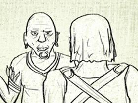 【暗黑破壞神III】【暴雪美術館】漫畫:寵物捲軸的作用是撿錢,還有,當成錢包