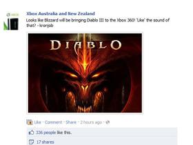 【暗黑破壞神III】【D3小道報】暗黑3家用主機版製作確認-可能將發行於XBOX