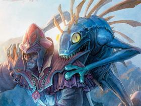 【魔獸世界】【暴雪美術館】卡牌遊戲美術圖:陰屍路魚人版