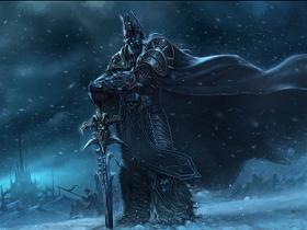 【魔獸世界】【暴雪美術館】Fan Art:黑暗女王希瓦娜斯+巫妖王阿薩斯聯手搏版面