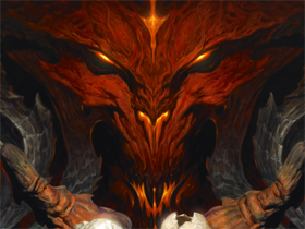 【暗黑破壞神III】暗黑打寶團No.2封面-迪亞布羅原畫下載
