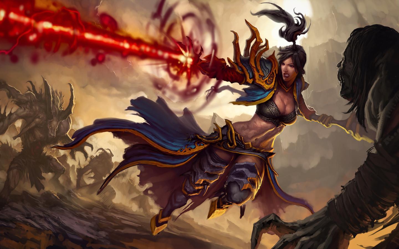 【暗黑破壞神III】秘術師團戰技能搭配