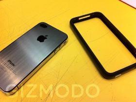 遠離 玻璃門,iPhone 4 鋁殼背板 大變身