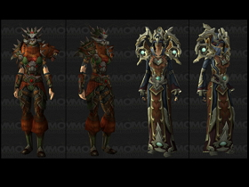 【魔獸世界】【5.0】牧師與獵人挑戰套裝重製再現新模組!