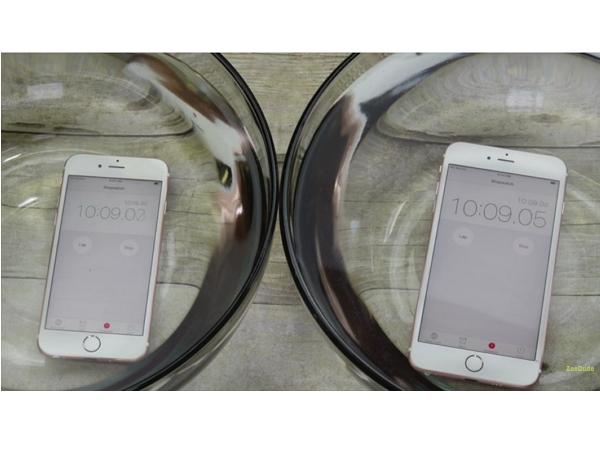 明明不是防水手機,把iPhone 6s 和 6s Plus 浸泡在水中48小時之後……
