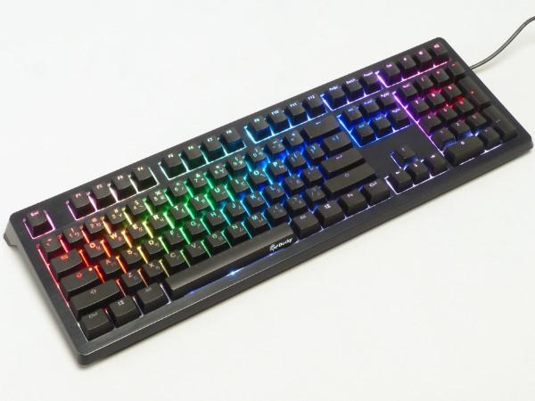 Cherry MX RGB 三色背光軸上身,Ducky Shine 5 機械式鍵盤實打體驗