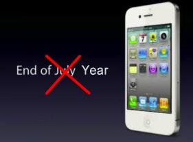 白色 iPhone 4 要明年春才會現身