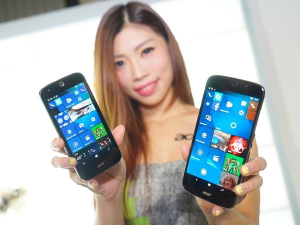 宏碁在台展多款 Windows 10 新品,微軟手機值得期待