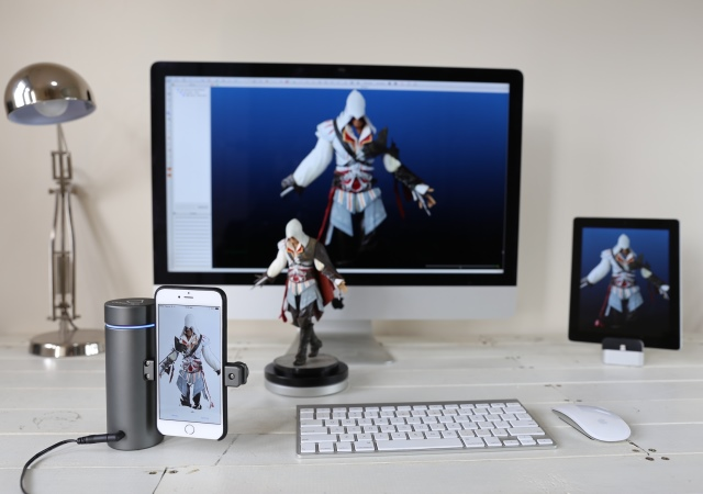Eora 3D把手機變3D掃瞄器,讓3D列印更簡單