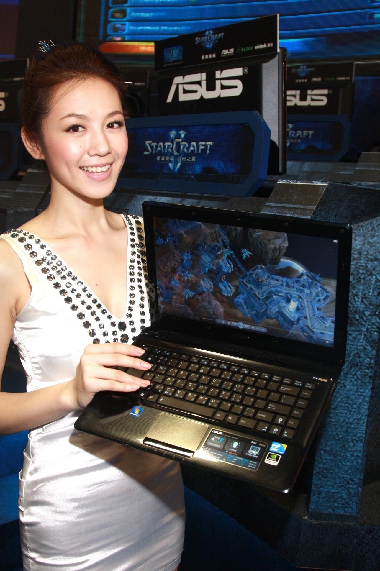 華碩獲選星海爭霸II「官方合作夥伴」