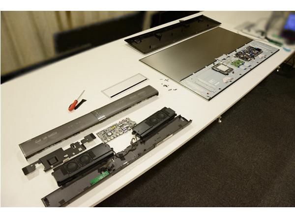 60吋小米電視3、小米電視主機完全拆解,看看裡面長什麼樣?