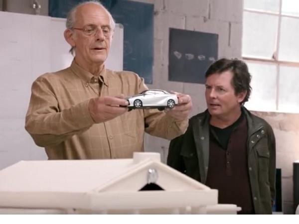 Toyota找來馬蒂與布朗博士重新聚首,講的是氫燃料電池車