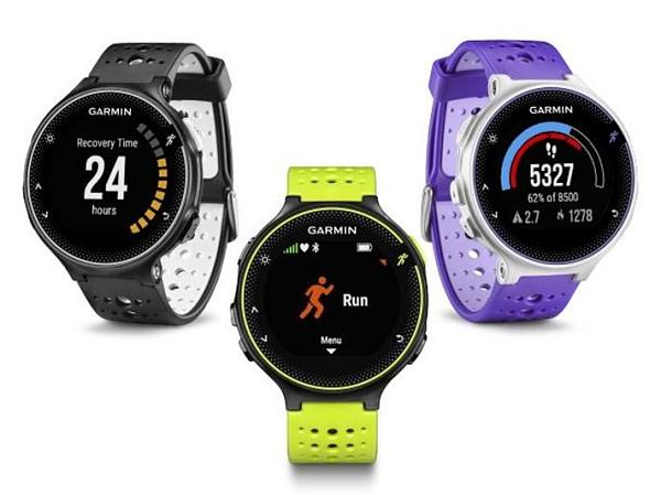 Garmin 推出三款運動錶:Forerunner 230、235 與 630,綠光偵測或心跳胸帶任你選
