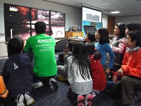 AMD 校外教學日 創新視覺科技孕育科技英才