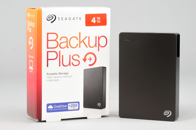 單碟 4TB 超大肚量,Seagate Backup Plus 外接硬碟實測
