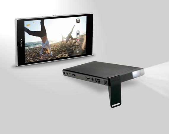 Sony 行動微型投影機 MP-C1 上市 視聽驚喜隨行 fun 大