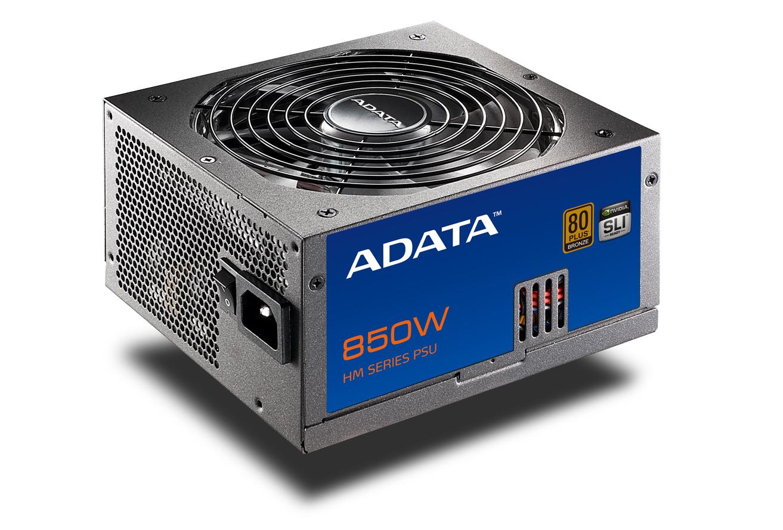 ADATA 全新出擊推出HM系列電源供應器產品