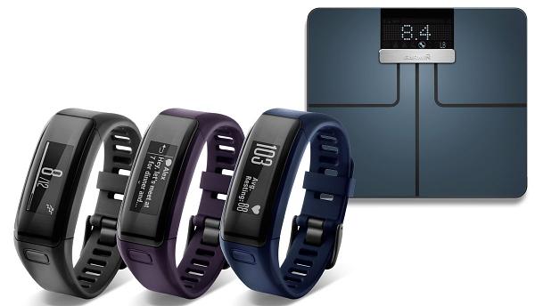 Garmin 跨界推出體重計與 VivoSmart HR 首款心律手環