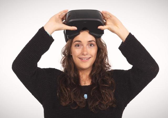 二合一VR顯示器AuraVisor,不需電腦直接讓你身歷其境