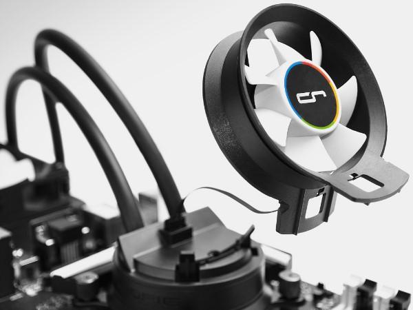Cryorig 發表 A 系列混合式水冷散熱器,兼顧主機板零件