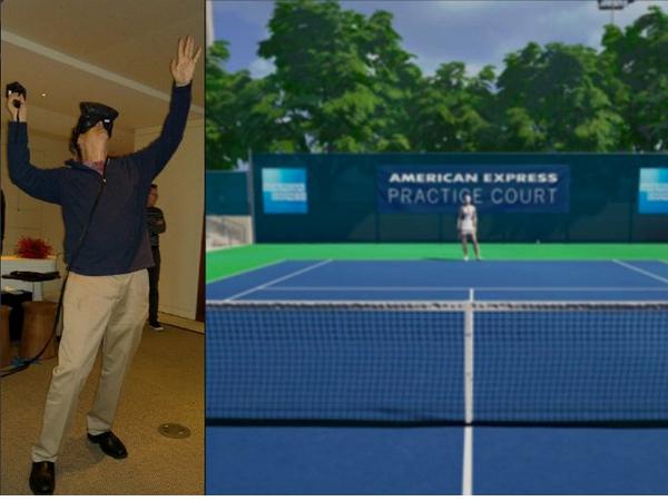 比爾蓋茲幫HTC Vive寫了一則業配文:能跟莎拉波娃打球,太酷了!