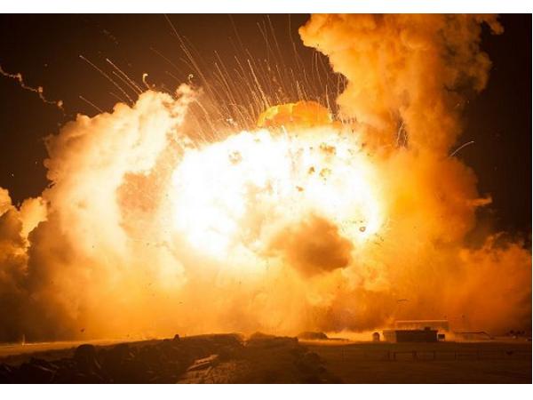 事發一年之後,NASA公布Antares號火箭爆炸現場照片