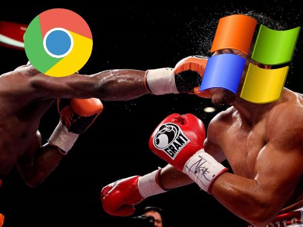 終須一別,Google Chrome 將於 2016 年停止支援 Windows XP