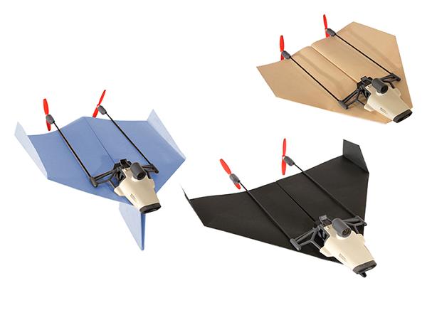 想空拍免四軸,用紙飛機也能玩空拍