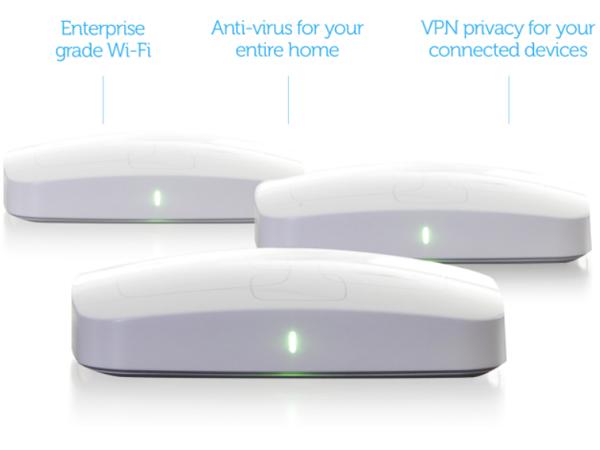 防毒軟體公司AVG,推出內建防毒功能的Chime路由器