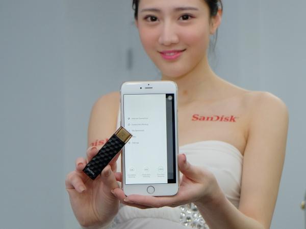 SanDisk 發表無線隨身碟,跨 Windows、Mac、iOS、Android 傳檔更方便