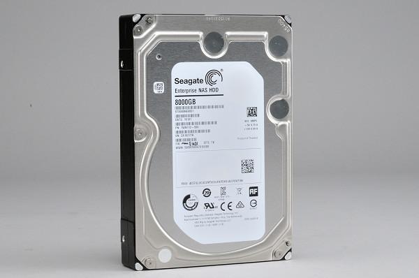巨量硬碟速度衝破 240MB/s,Seagate Enterprise NAS HDD 8TB 實測
