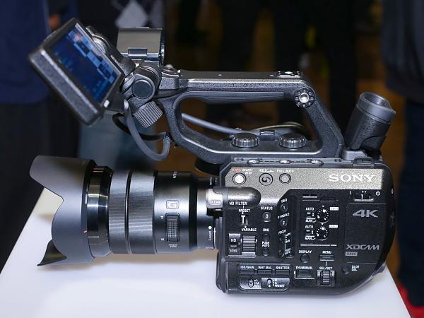 Sony 推出僅重 0.8kg 的輕量級 PXW-FS5 專業 4K 數位電影機
