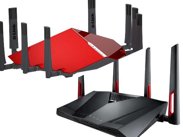 華碩與 D-Link 於資訊月展場開賣新一代無線路由器