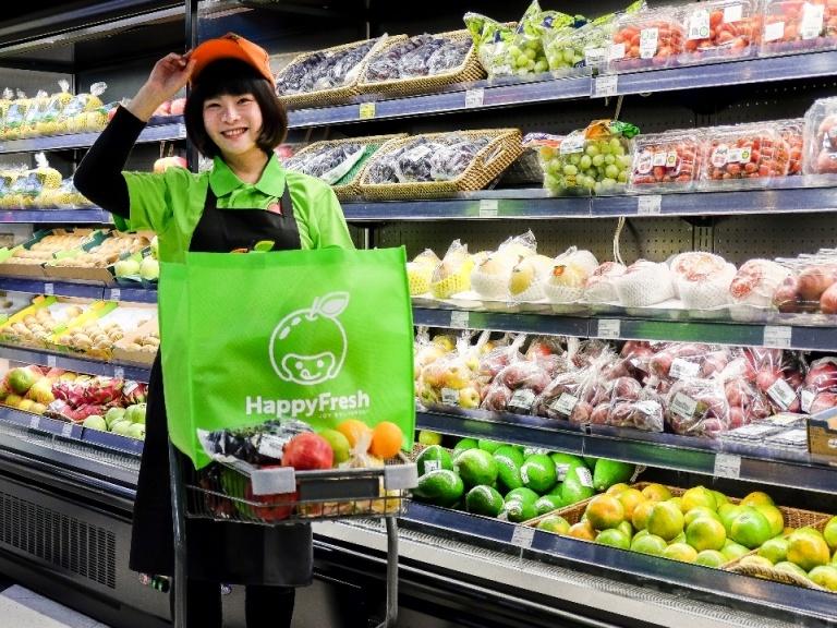 買菜不用自己跑腿,HappyFresh 推超市生鮮一小時送達服務