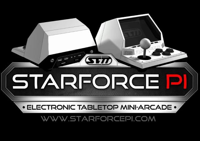 內裝Raspberry Pi,可玩懷舊遊戲的復古風迷你遊戲筐體Starforce Pi